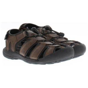 Mens Khombu Travis Active Sandals Adjustable Brown